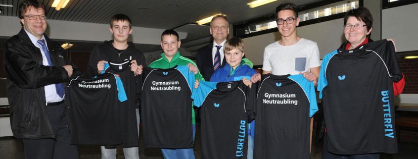 Schul-Tischtennismannschaft