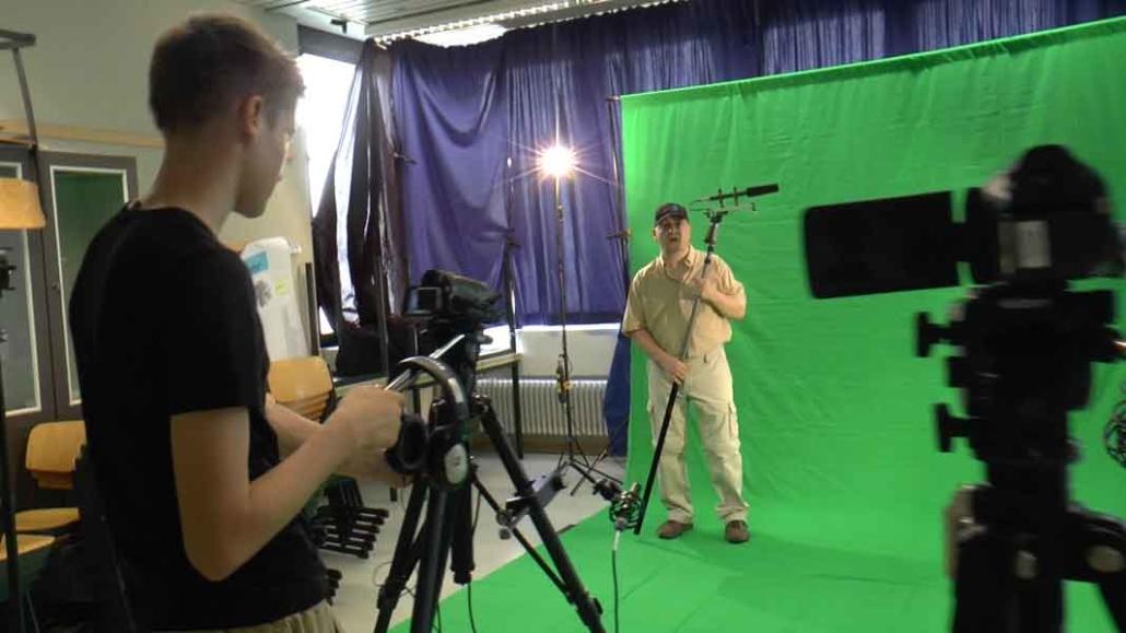 GreenScreen Projekt Filmgruppe